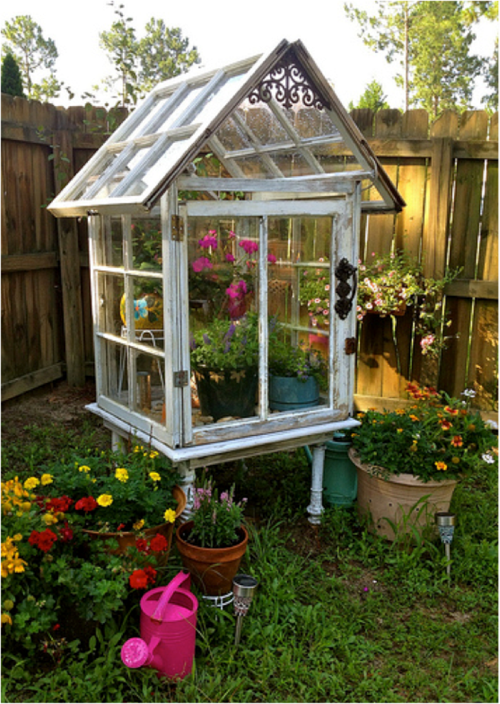 Top 38 Best Ways To Repurpose and Reuse Old Windows | Jardinería ...