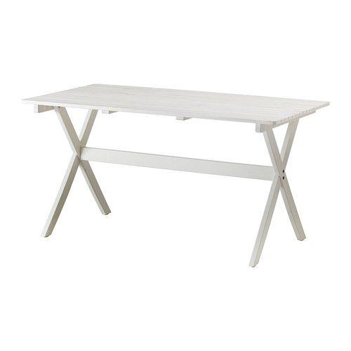 MÄLARÖ Tischaußen faltbar weiß weiß IKEA Österreich