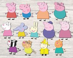image relating to Peppa Pig Template Printable titled Picture outcome for peppa pig persona no cost printable visuals