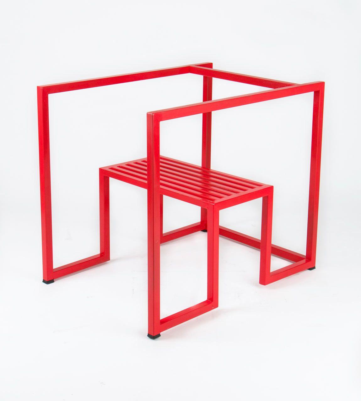 Bon A Stripped Down, Geometric Chair
