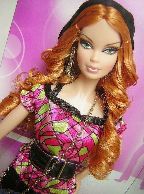 Top Model Summer 2007 Barbie Model Barbie Top Glamour Dolls