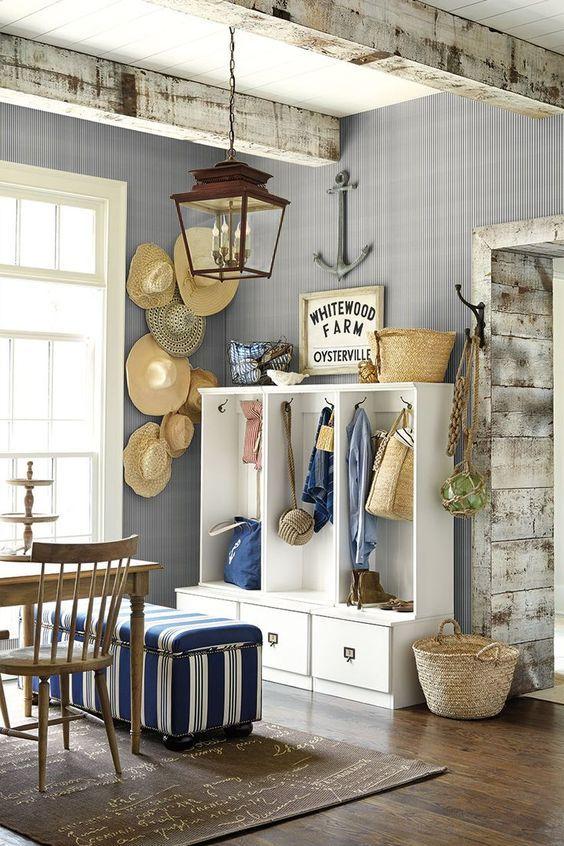 nautical accent decor farmhouse pinterest beach cottages home