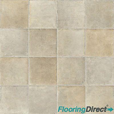 Tile Stone Effect Vinyl Flooring Kitchen Bathroom Cheap Lino Cushion ...