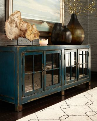 Love The Color Of This Storage Unit Ethan Allen