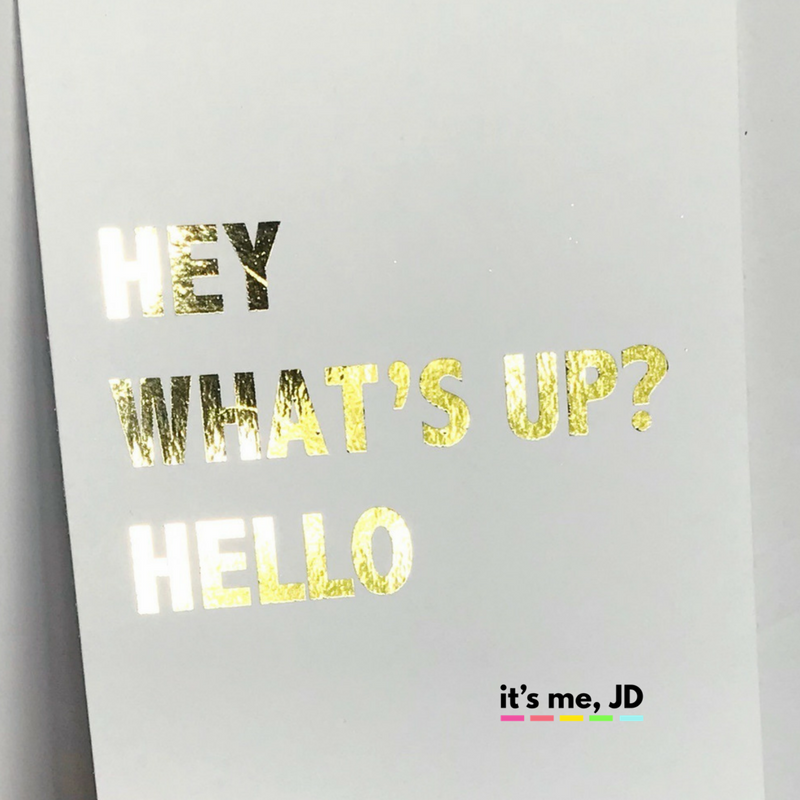 10 Easy Ways To Add Foil To Your Paper Projects With And Without A Laminator With Images Paper Projects Card Making Techniques Laser Foil