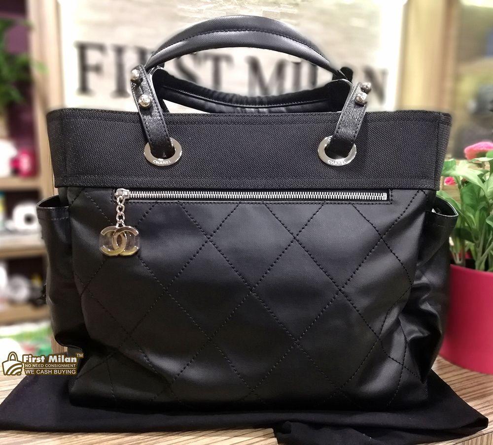 80a54605aa39 CHANEL Biarritz Tote Bag. Price RM7,880 #chaneltotebag   Top-Handle Bags