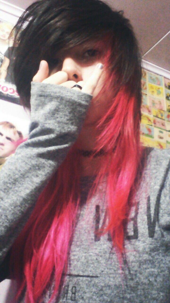Emo emogirl emohair pinkhair cabelocolorido alternative