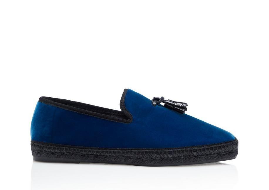 ae21d6edec88 TOM FORD BARNES VELVET ESPADRILLES.  tomford  shoes