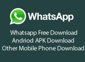 whatsapp free download for mobile