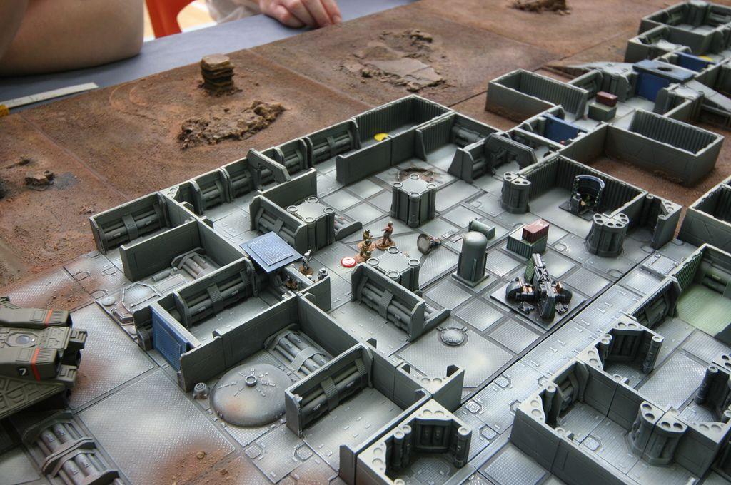 15mm Sci Fi Terrain Layout Terrain Wargaming Terrain 40k Terrain