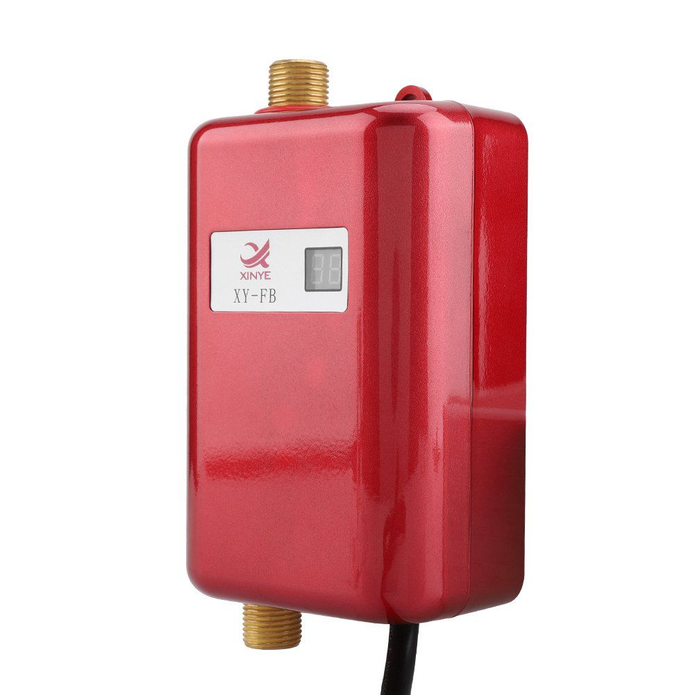 Ejoyous 110V 3000W Mini Electric Tankless Instant Hot