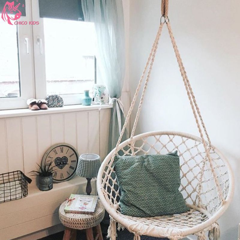 Indoor Hammock Chair For Bedroom Inside Nordic Style Round Hammock