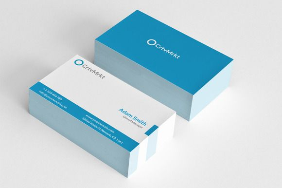 Check out Simple Minimal Business Card by Arslan on Creative ...