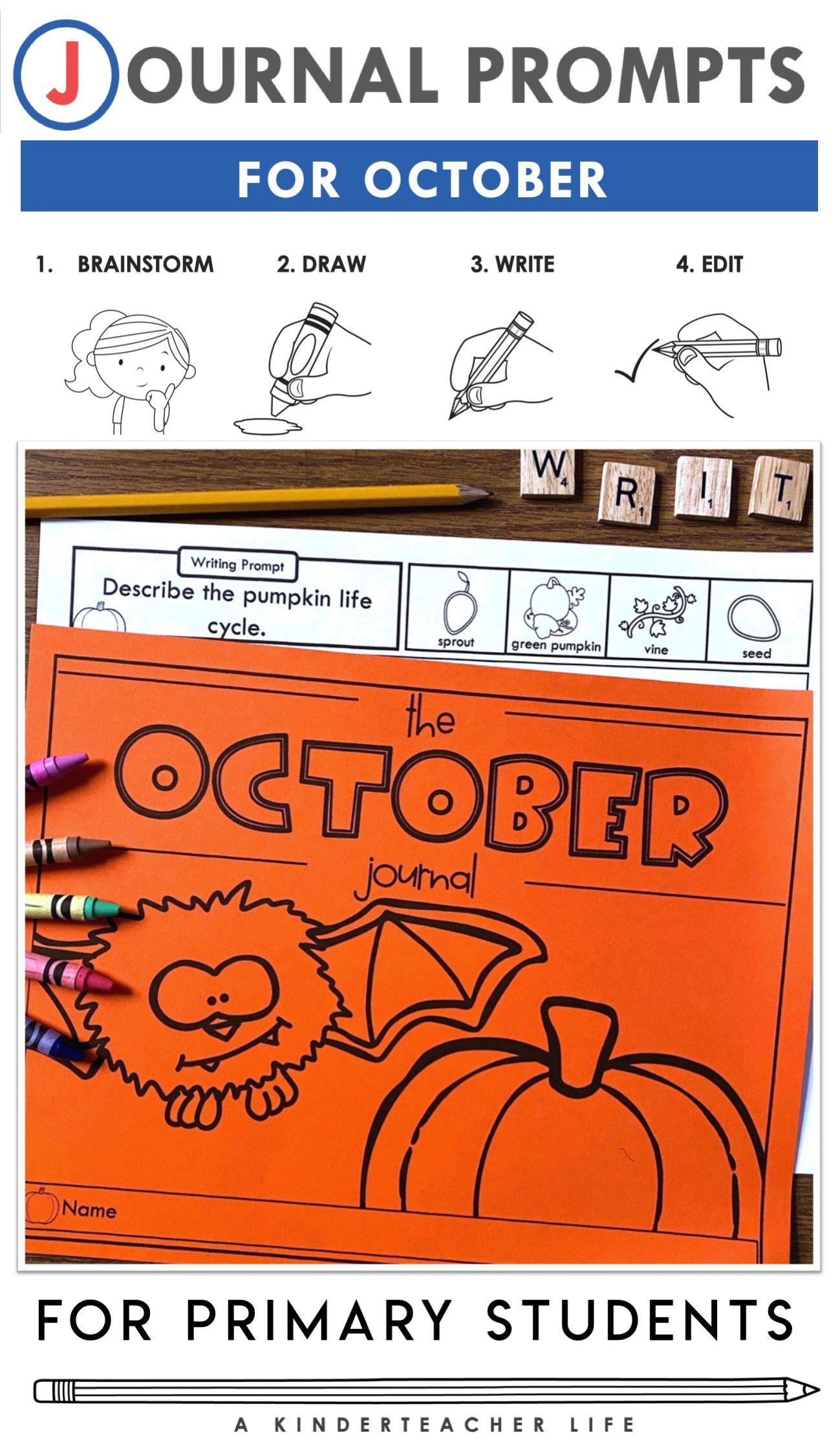 October Journal Prompts
