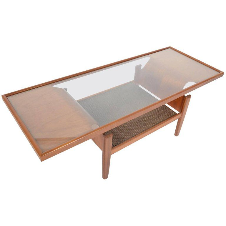 G Plan Bentwood Teak And Glass Coffee Table For Sale Glass