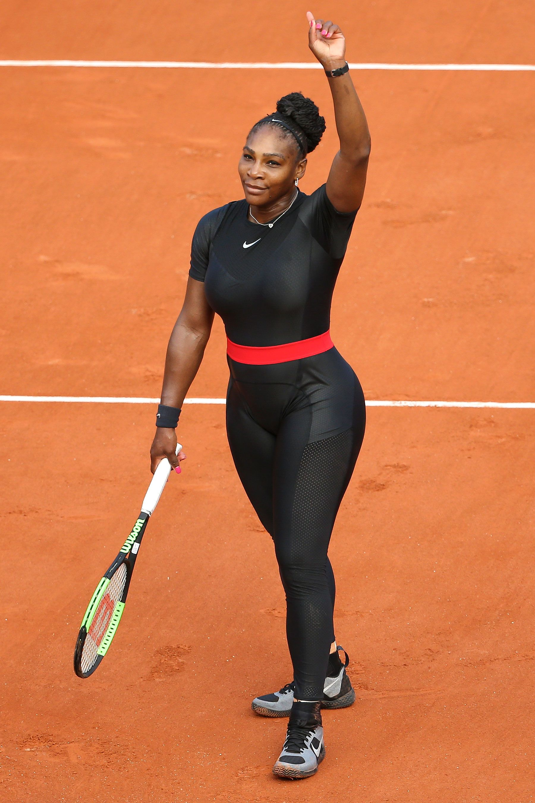 Serena Williams' Comeback Catsuit at the French Open Had a Powerful Message for Moms