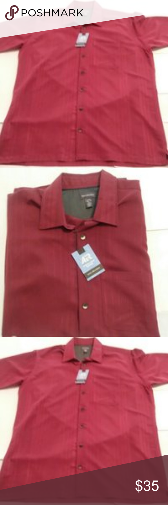 Men S Van Heusen Casual Shirt Inexpensive Designer Men S Van Heusen Clothing Shirts Van Heusen Big Tall Air Cooling Zone Tempera Casual Shirts For Men Casual