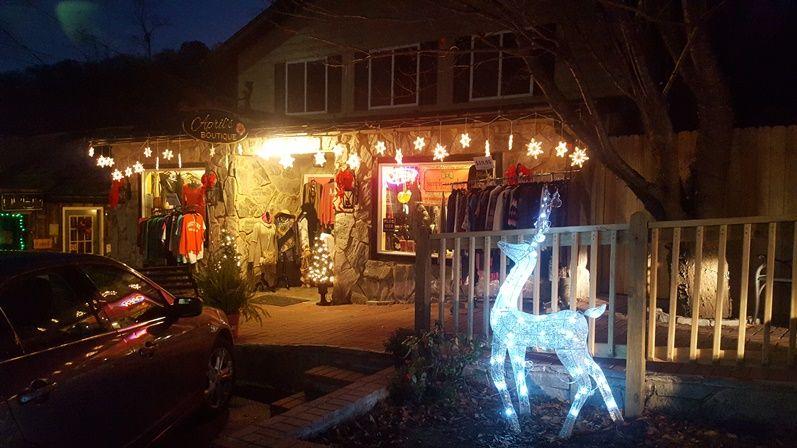 Pin by Chimney Rock Village on Christmas Lights in Chimney Rock