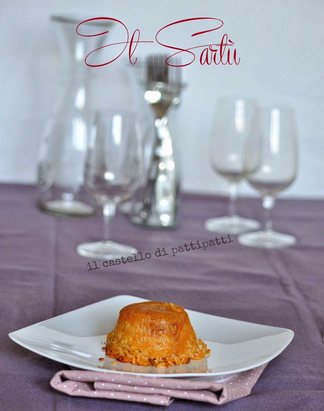 Il castello di Patti Patti: Il sartù di riso (l\'ing colpisce ancora ...