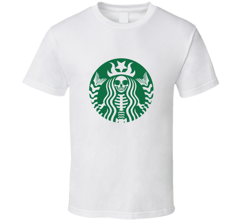 Starbucks Dead Siren Halloween (With images) T shirt