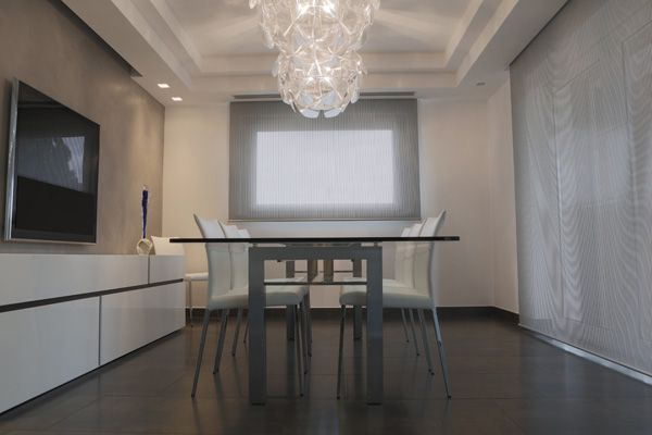 Tende da interno per appartamento di design living room decor