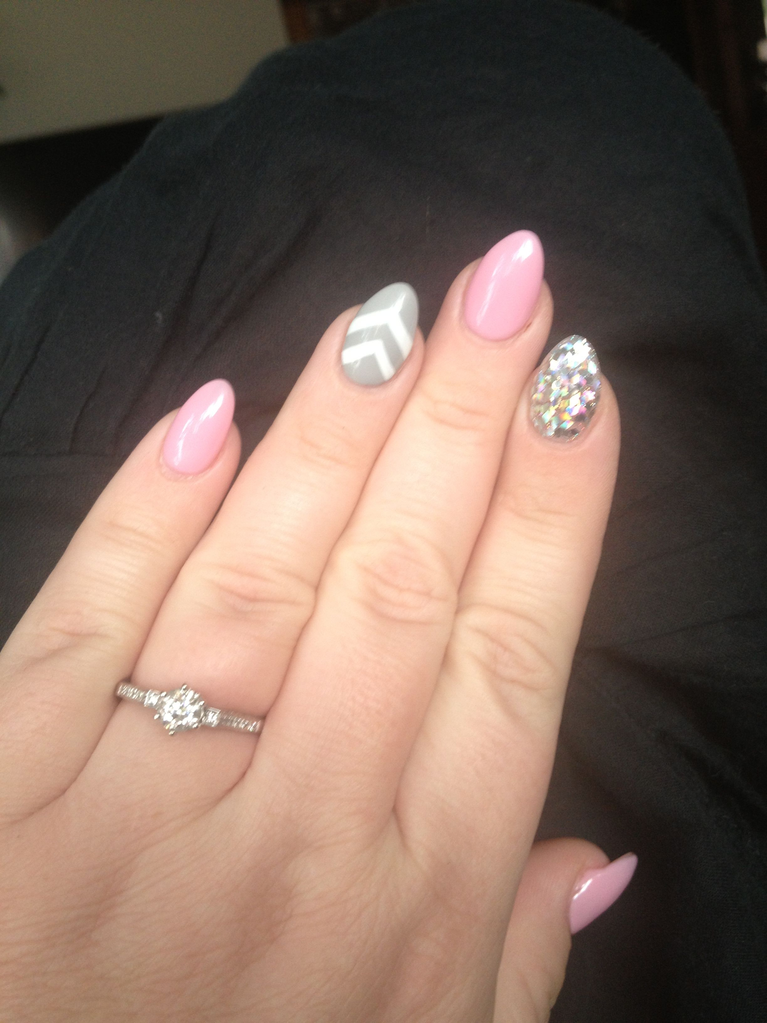 Almond Nails | Nail | Pinterest | Nailart und Fingernägel