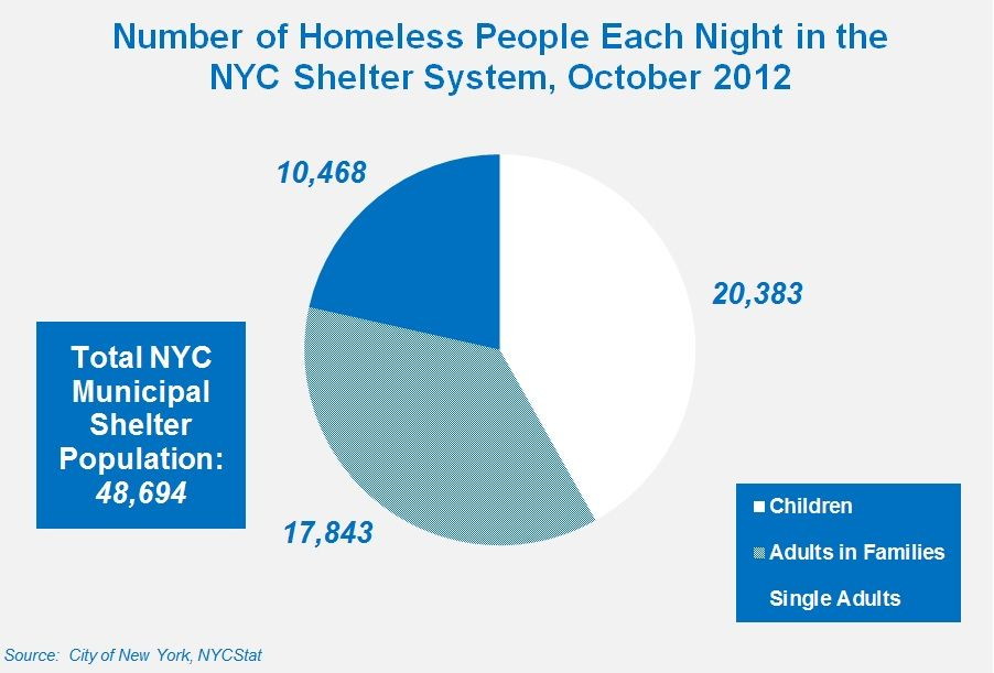 20 400 Children Make Up Nyc S Shelter Population Homeless Facts Basic Facts Facts
