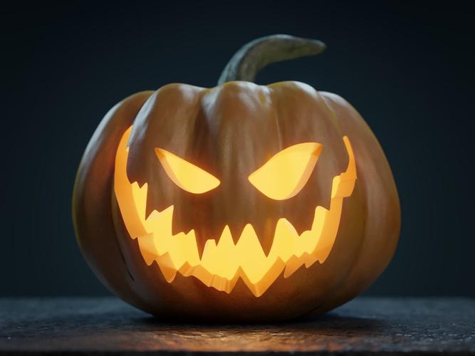 Halloween Pumpkin Jack o lantern | 3D model | Pumpkin