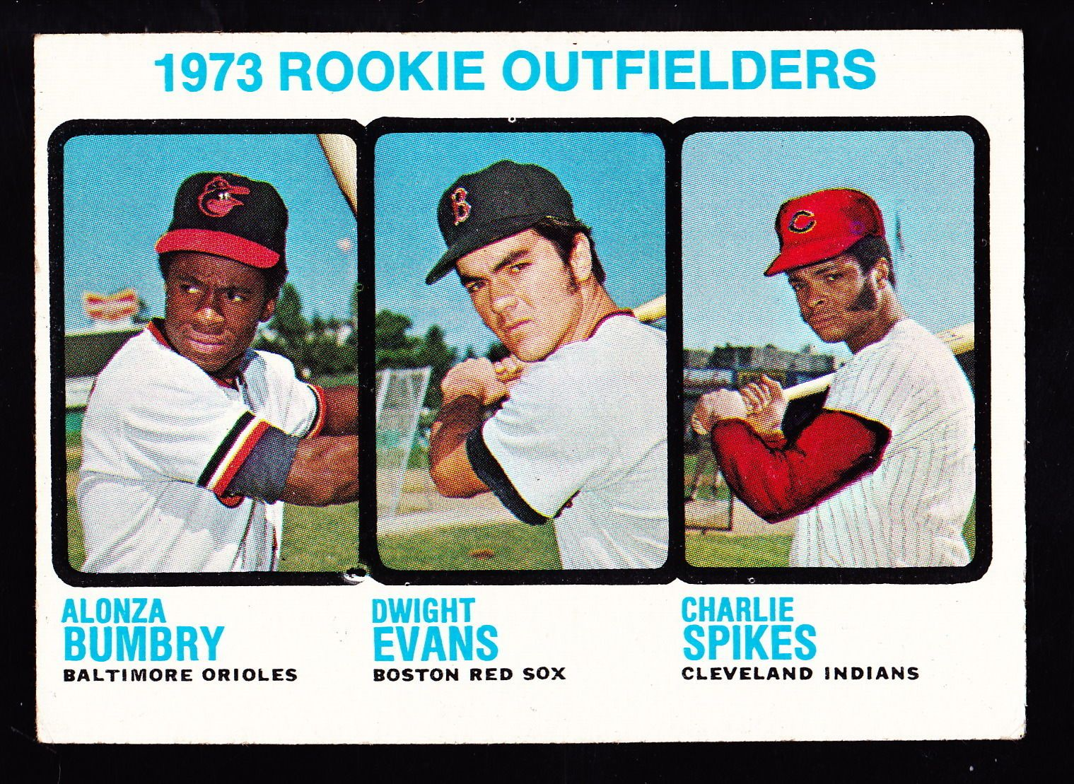 1973 topps 614 dwight evans red sox rookie baseball