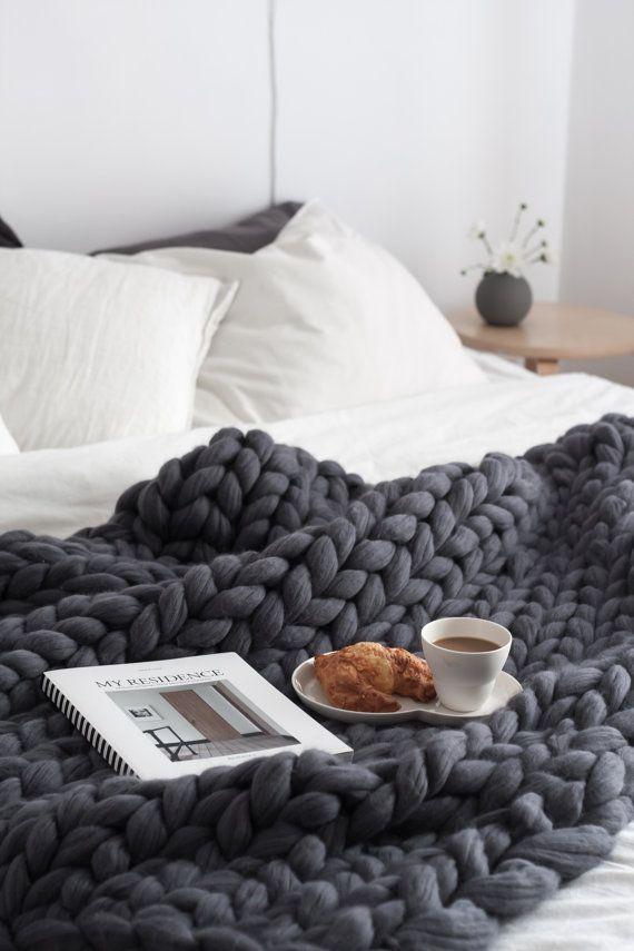 Letto Matrimoniale Gigante.Premium Collection Ohhio S Grande Punto Blanket Chunky Blanket