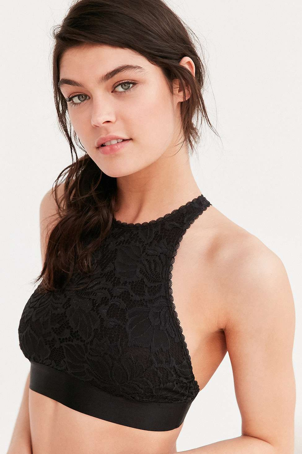 337657c60cfa4 Out From Under Katia Lace High Neck Bra | Glad Rags x | High neck ...