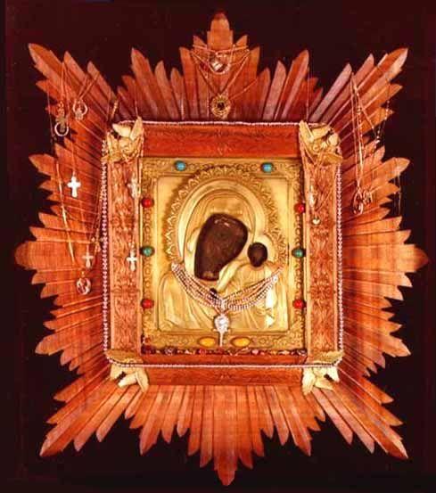 икона Богородицы «ЖАДОВСКАЯ (КАЗАНСКАЯ ЖАДОВСКАЯ)»  Местночтимая