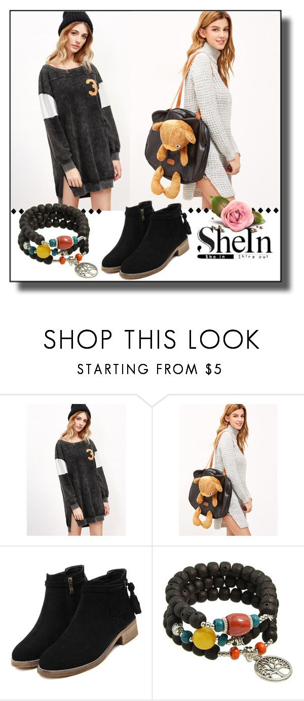"""""""SheInSide-XVII/2"""" by dzemila-c ❤ liked on Polyvore featuring Sheinside and shein"""