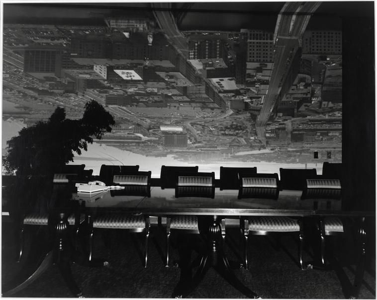 Abelardo Morell, Camera Obscura Image Of Boston, View Looking Southeast In  Conference, 1998