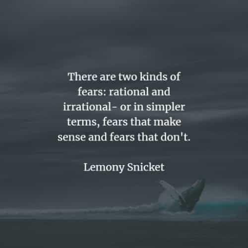 65 Fear quotes that'll make you more aware of the feeling