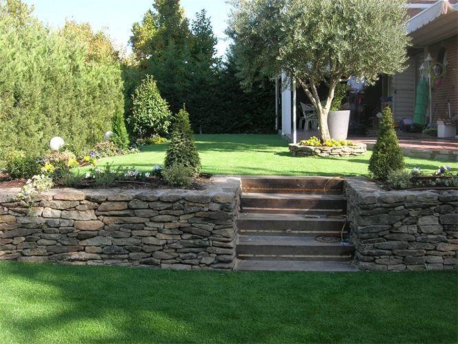 escaleras exteriores de obra - Buscar con Google Jardines