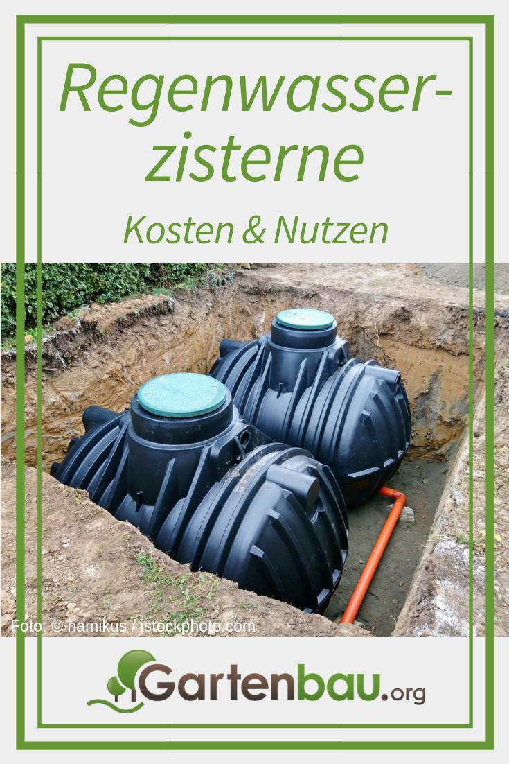 Garten Bewassern Was Ist Eine Regenwasserzisterne Und Wie Funktioniert Sie Wie Wird Eine Anlage Zur Rege Zisterne Wassertank Garten Regenwassernutzungsanlage