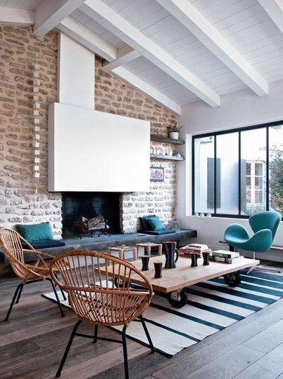 Hameau familial sur l 39 ile de r maison couleurs - Maison de campagne familiale darryl design ...