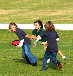 playing football with my friends after school was always ...