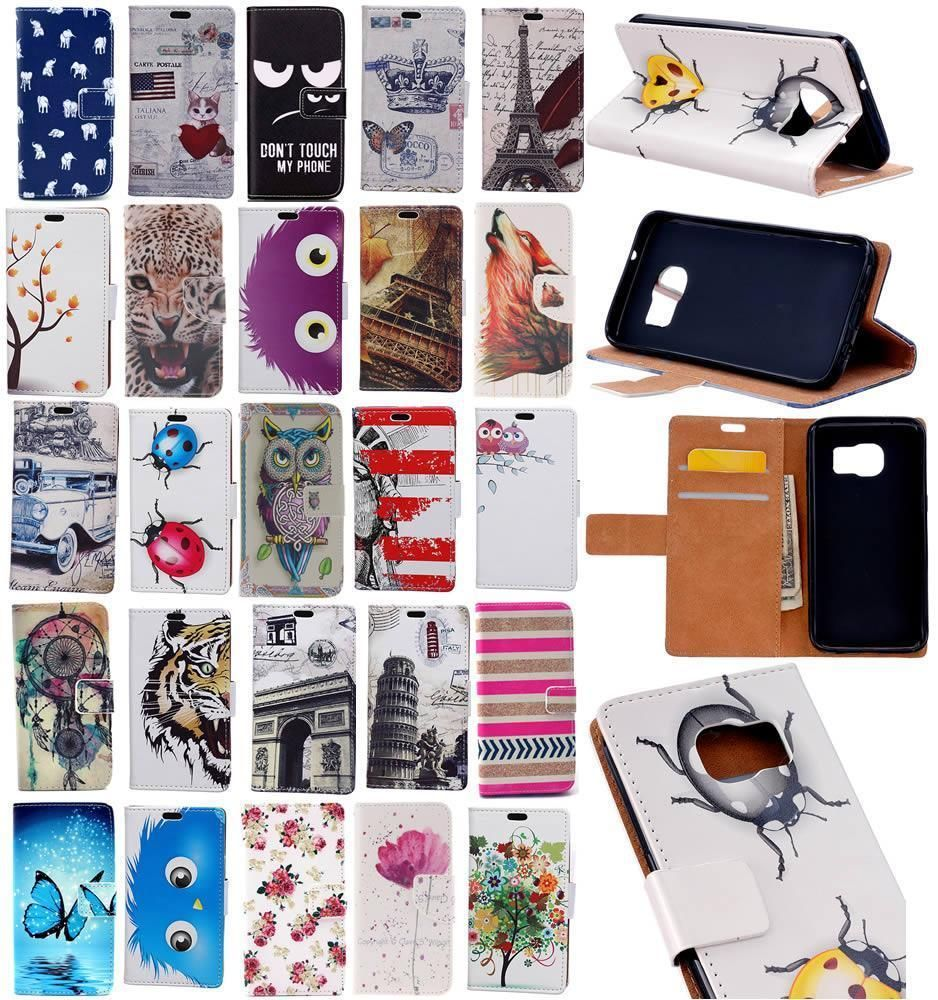 finest selection 42087 9fc84 For Huawei Y6 Ii Compact Elite Y5 Ii Pu Leather Wallet Stand Cover ...