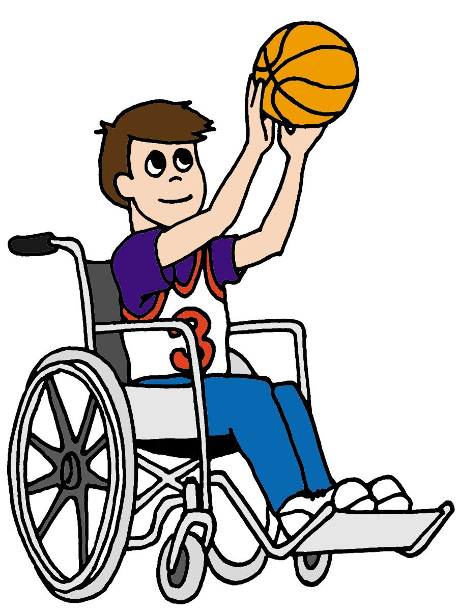 image for basketball with wheelchair person sport clip art sport rh za pinterest com wheelchair clipart gif wheelchair clip art funny