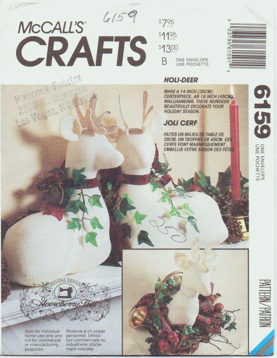 Holi-Deer Stuffed Reindeer & Stag Package by Joli Cerf of Gooseberry ...