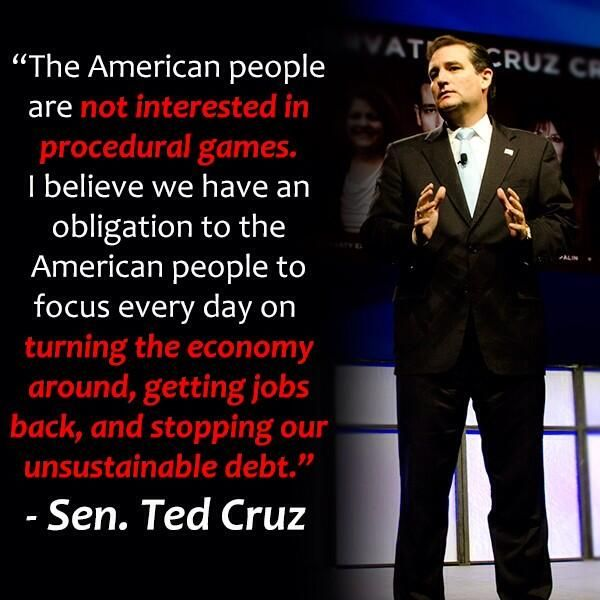 Ted Cruz Quotes Fascinating Senator Ted Cruz On Contenders Pinterest Ted Politics And Truths