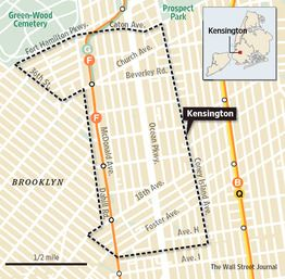 map of kensington brooklyn Diverse Kensington Keeps Stirring The Mix Kensington Brooklyn map of kensington brooklyn
