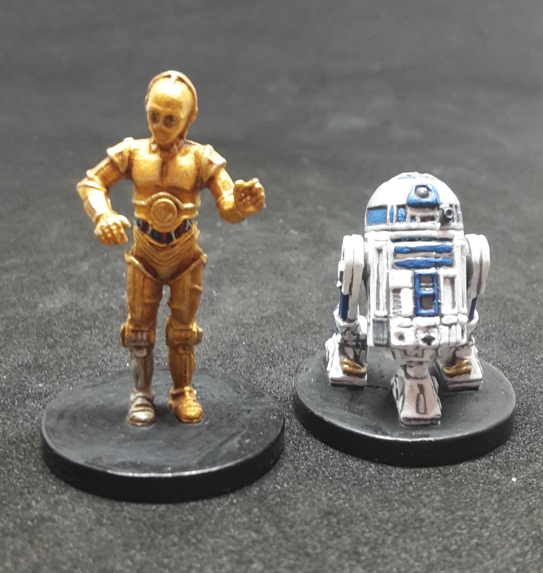 R2 D2 And C 3po Star Wars Imperial Assault Ally Pack R2 D2 And C