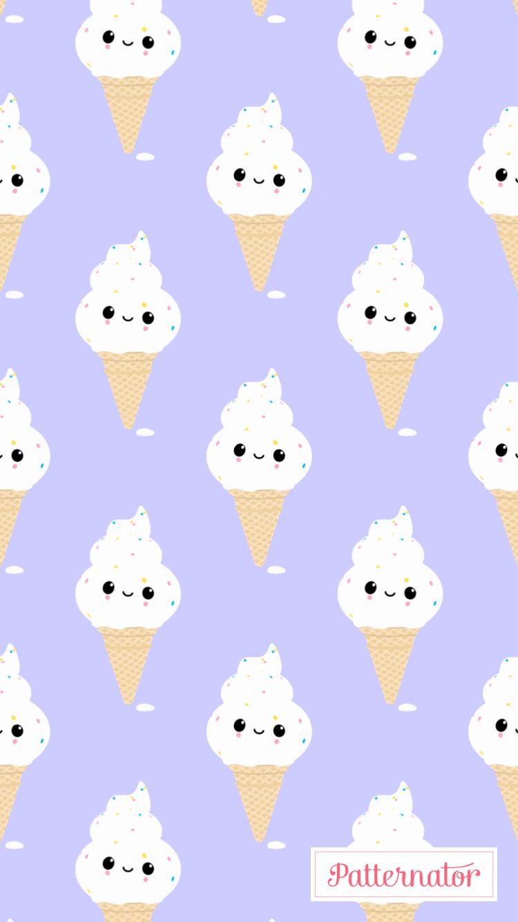 Kawaii Ice Cream Wallpaper Ice Cream Wallpaper Cream Wallpaper Cute Wallpapers