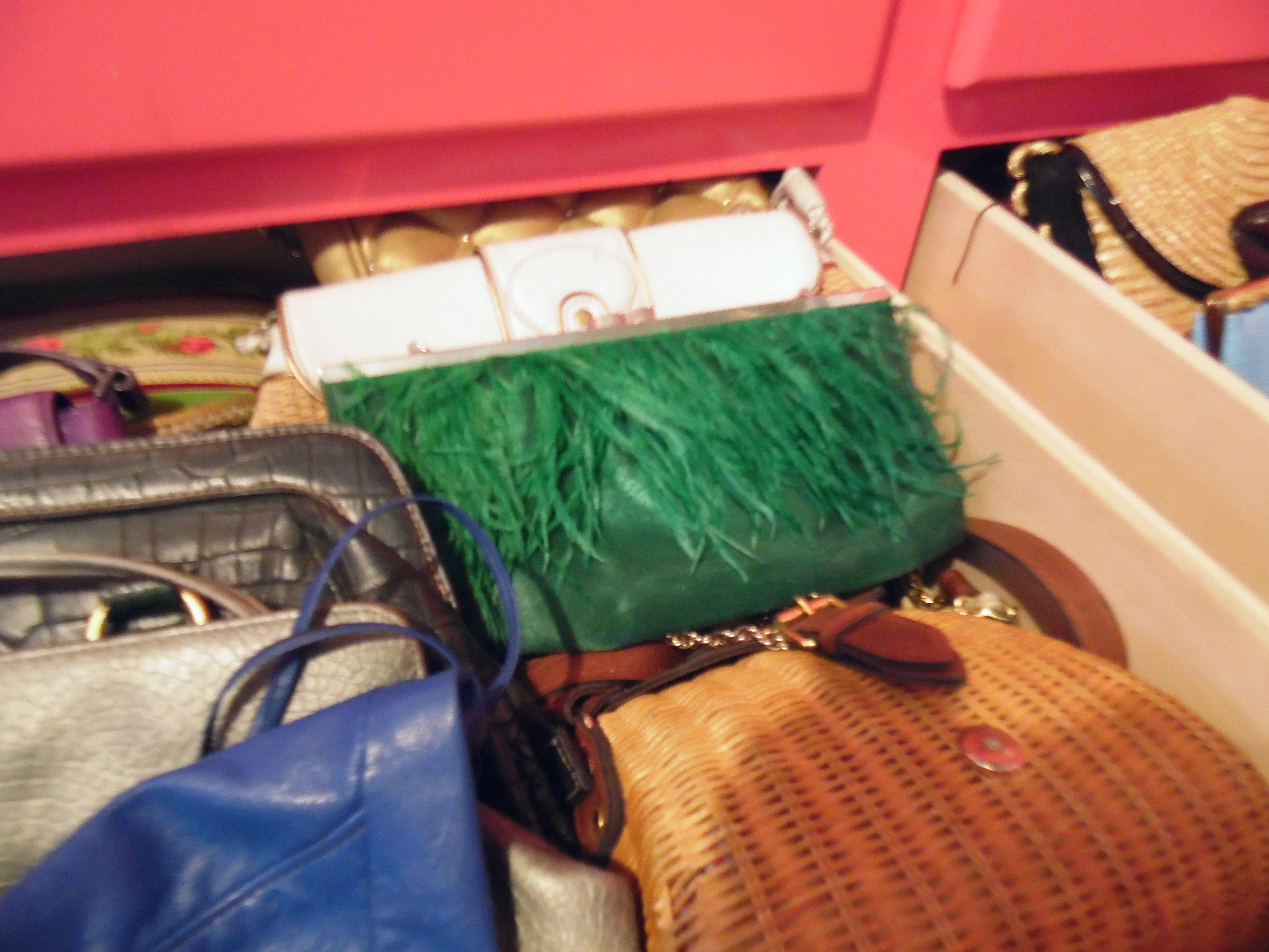 Ordenando mis bolsas (mi adicción)