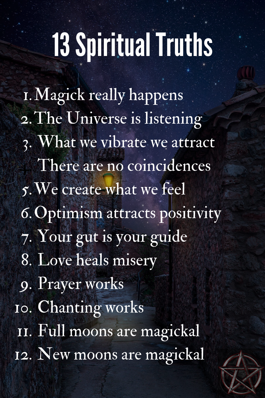 12 Spiritual Truths