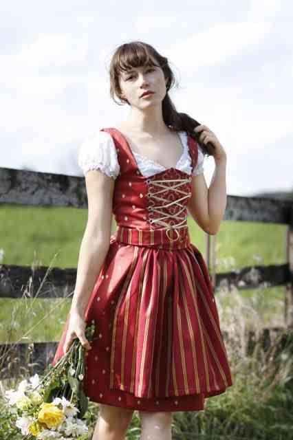 e31a4125b8cad アルプス地方(ディアンドル)   可愛すぎる世界の民族衣装 - NAVER ...