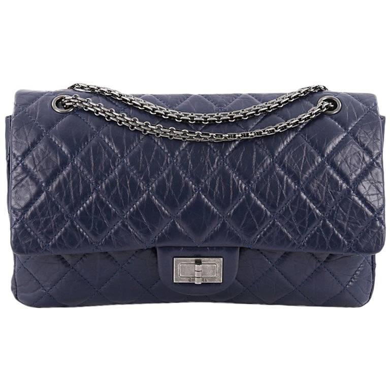 4d0c0925af23 Chanel Reissue 2.55 Handbag Quilted Aged Calfskin 227
